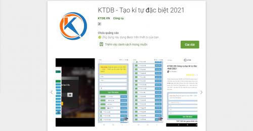 Thông báo phát hành ứng dụng KTDB.VN trên Google Play (CH-Play)